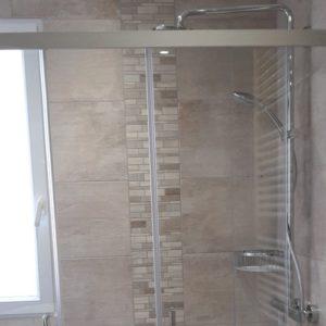 douche à l'italienne installation création pose  Trouville Rouen Evreux