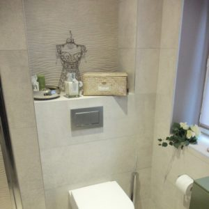 salle de bains compacte Haute-Normandie Trouville Paris pose de carrelage artisan