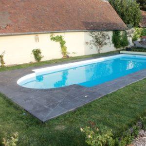 pose de margelle tour de piscine eure evreux  artisan d'art carreleur