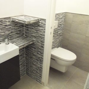 les toilettes pose artisan carreleur Haute-Normandie Louviers Evreux