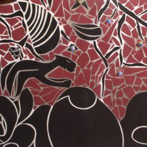 fresque carrelage sculpture carrelage monsieur OtO
