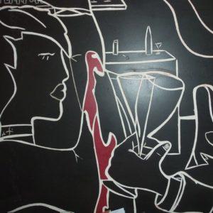 monsieur oto carreleur fresque carrelage création et pose décor faïence mosaïque artisan d'art