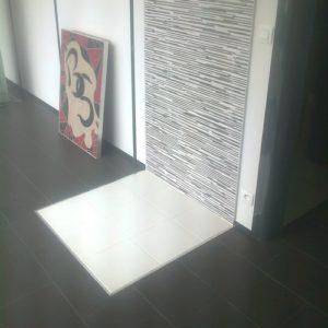 pose de sol carrelage show-room eure evreux