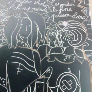 monsieur oto carreleur fresque carrelage flore et ses girls artisan carreleur 27400